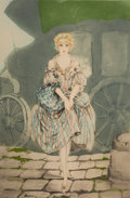 Pin-up and Glamour Art, LOUIS JUSTIN LAURENT ICART (French-American, 1888-1950). PrettyLady. Etching. 20 x 13.5 in.. Signed lower right. ...