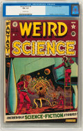 Golden Age (1938-1955):Science Fiction, Weird Science #8 (EC, 1951) CGC FN+ 6.5 Off-white pages....
