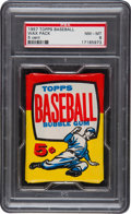 Baseball Cards:Singles (1950-1959), 1957 Topps Baseball 5-Cent Unopened Wax Pack PSA NM-MT 8. ...