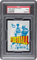 Football Cards:Singles (1970-Now), 1972 Topps Football Wax Pack 3rd Series PSA Mint 9. ...