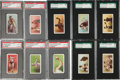 """Boxing Cards:General, 1910 E79 Phil. Caramel """"27 Scrappers"""" Graded Near Set (16/21). ..."""