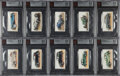 "Non-Sport Cards:Sets, 1936 John Player & Sons ""Motor Cars"" BVG-Graded Complete Set(50). ..."