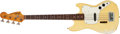 Musical Instruments:Bass Guitars, 1971 Fender Musicman Olympic White Bass Guitar # 307894...