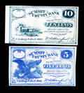 Obsoletes By State:Ohio, Cuyahoga Falls, OH- W.A. Hanford payable at Summit County Bank 5¢;10¢ Oct. 1862. ... (Total: 2 notes)