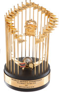 Baseball Collectibles:Others, 1997 Florida Marlins World Championship Trophy & More....