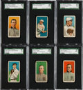 Baseball Cards:Sets, 1909-11 T206 White Borders Starter Set (122) Plus Extra FrankChance. ...