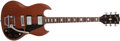 Musical Instruments:Electric Guitars, 1972 Gibson SG Deluxe Walnut Electric Guitar, #623059....