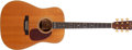 Musical Instruments:Acoustic Guitars, 1995 Martin D-35 30th Anniversary Natural Acoustic Guitar,#559928...