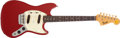 Musical Instruments:Electric Guitars, 1967 Fender Duo-Sonic II Red Electric Guitar, #194531....