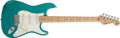 Musical Instruments:Electric Guitars, 1994 Fender Stratocaster 40th Anniversary American StandardSherwood Green Electric Guitar # N3162858...