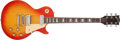 Musical Instruments:Electric Guitars, 1976 Gibson Les Paul Deluxe Cherry Sunburst Electric Guitar # 00125738...