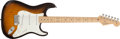 Musical Instruments:Electric Guitars, 2003 Fender Stratocaster 50th Anniversary Sunburst Electric Guitar, # V3220394....