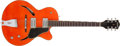 Musical Instruments:Electric Guitars, 2004 Gretsch G-3161 Orange Electric Guitar, # KP03100263....