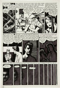 Original Comic Art:Panel Pages, Jaime Hernandez Love and Rockets #2 page 22 Original Art(Fantagraphics, 1983)....