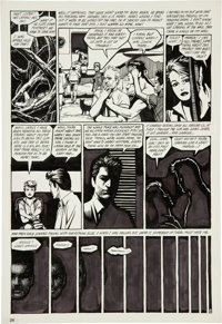 Jaime Hernandez Love and Rockets #2 page 22 Original Art (Fantagraphics, 1983)