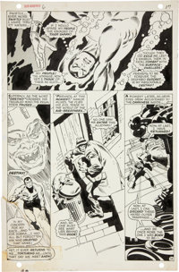John Buscema and Dan Adkins The Sub-Mariner #6 page 13 Original Art (Marvel, 1968)