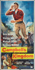 """Movie Posters:Action, Campbell's Kingdom (Rank, 1957). British Three Sheet (39.5"""" X 79""""). Action.. ..."""