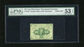 Fractional Currency:First Issue, Fr. 1242 10c First Issue PMG About Uncirculated 53EPQ. A generally unassuming note that is lightly circulated and well margi...