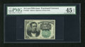 Fractional Currency:Fifth Issue, Fr. 1264 10c Fifth Issue PMG Choice Extremely Fine 45EPQ. A verywell margined and colorful example of this scarcer green se...