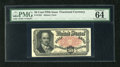 Fractional Currency:Fifth Issue, Fr. 1381 50c Fifth Issue PMG Choice Uncirculated 64 EPQ. This note was deemed to have exceptional paper quality by the gradi...