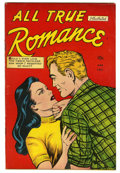 "Golden Age (1938-1955):Romance, All True Romance #1 Davis Crippen (""D"" Copy) pedigree (Comic Media,1951) Condition: FN/VF...."