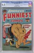"Golden Age (1938-1955):Funny Animal, America's Funniest Comics #2 Davis Crippen (""D"" Copy) pedigree (Wm.H. Wise & Co., 1944) CGC FN+ 6.5 Off-white pages...."