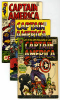 Silver Age (1956-1969):Superhero, Captain America #100-102 Group (Marvel, 1968).... (Total: 3)