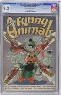"""Golden Age (1938-1955):Funny Animal, Fawcett's Funny Animals #37 Davis Crippen (""""D"""" Copy)pedigree(Fawcett, 1946) CGC NM- 9.2 Off-white to white pages...."""