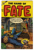 "Golden Age (1938-1955):Horror, The Hand of Fate #20 Davis Crippen (""D"" Copy) pedigree (Ace, 1953)Condition: VF...."