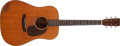 Musical Instruments:Acoustic Guitars, 1961 Martin D-21 Natural Acoustic Guitar, #180297....