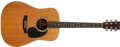 Musical Instruments:Acoustic Guitars, 1978 Martin D-28 Natural Acoustic Guitar, #399707. ...