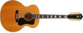 Musical Instruments:Acoustic Guitars, 1976 Guild F-412 Natural 12-String Acoustic Guitar, #140088....