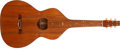 Musical Instruments:Lap Steel Guitars, 1920's Weissenborn Style 4 Natural Hawaiian Acoustic Guitar,#N/A....