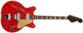 Musical Instruments:Electric Guitars, 1967 Fender Coronado II Cherry Red Thin-Hollow Electric Guitar,#193068. ...