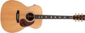 Musical Instruments:Acoustic Guitars, 2003 Martin J-40 Natural Electric Acoustic Guitar, #940143....