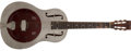 Musical Instruments:Resonator Guitars, 1935 National Style O Nickel Plated Resonator Acoustic Guitar,#S1385. ...