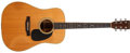 Musical Instruments:Acoustic Guitars, 1977 Martin D-35 Natural Acoustic Guitar, #399699....