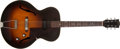 Musical Instruments:Electric Guitars, Early 1950s Gibson 125 Sunburst Acoustic Electric Archtop Guitar,#81492. ...