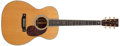 Musical Instruments:Acoustic Guitars, 2001 Martin OM-42 Natural Acoustic Guitar, #882740. ...