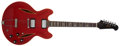 Musical Instruments:Electric Guitars, 1969 Gibson Trini Lopez Custom Cherry Electric Guitar, #850000....