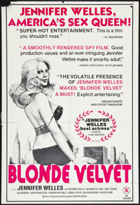 """Blonde Velvet Lot (Unknown, 1976). One Sheets (2) (27"""" X 41"""" and 27"""" X 40""""). Adult. ... (Total: 2 It..."""
