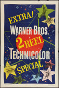 "Movie Posters:Short Subject, 2 Reel Technicolor Stock (Warner Brothers, 1948). One Sheet (27"" X41""). Short Subject.. ..."