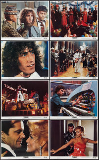 """Tommy (Columbia, 1975). Mini Lobby Card Set of 8 (8"""" X 10""""). Rock and Roll. ... (Total: 8 Items)"""