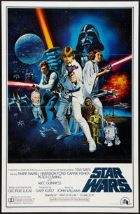 "Star Wars (20th Century Fox, 1977). One Sheet (27"" X 41"") Style C. Science Fiction"