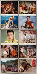 "Movie Posters:Academy Award Winners, Ben-Hur (MGM, R-1969). British Front of House Color Photo Set of 10(8"" X 10""). Academy Award Winners.. ... (Total: 10 Items)"