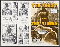 The Beast and the Vixens Lot (Sophisticated Films, 1974). Pressbooks (9) (Various Sizes). Adult. ... (Total: 9 Items)