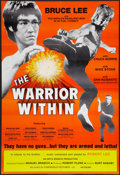 "Movie Posters:Action, The Warrior Within (Cineworld, 1976). One Sheet (25"" X 37""). Action. ..."