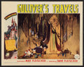 "Movie Posters:Animated, Gulliver's Travels (Paramount, 1939). Lobby Card (11"" X 14"").Animated.. ..."