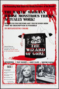 "Movie Posters:Horror, The Wizard of Gore (Mayflower, 1970). One Sheet (27"" X 41""). Horror.. ..."