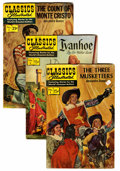 Silver Age (1956-1969):Classics Illustrated, Classics Illustrated Box Lot Various Editions (Gilberton, mostly1960s) Condition: Average GD/VG....